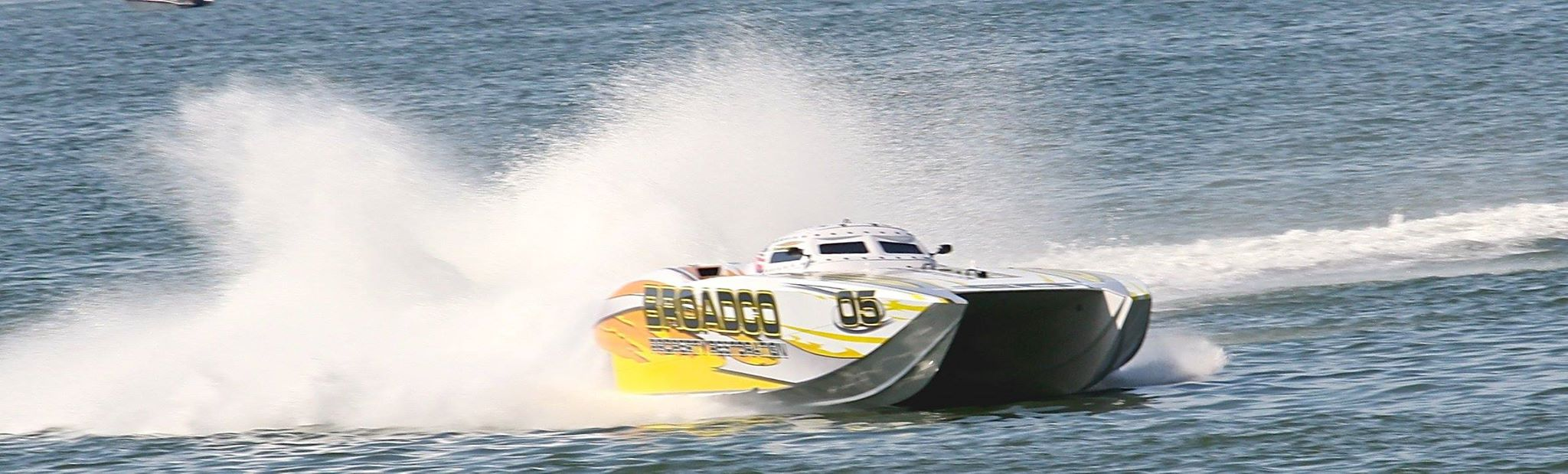 Defending 2014 Superboat-class world champion Broadco is back in action.