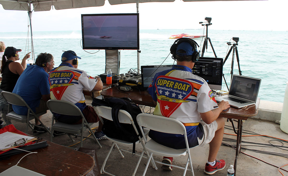 Lane, Sanders, Cox and the entire SBI production crew pulled together three outstanding Livestream broadcasts in Key West.