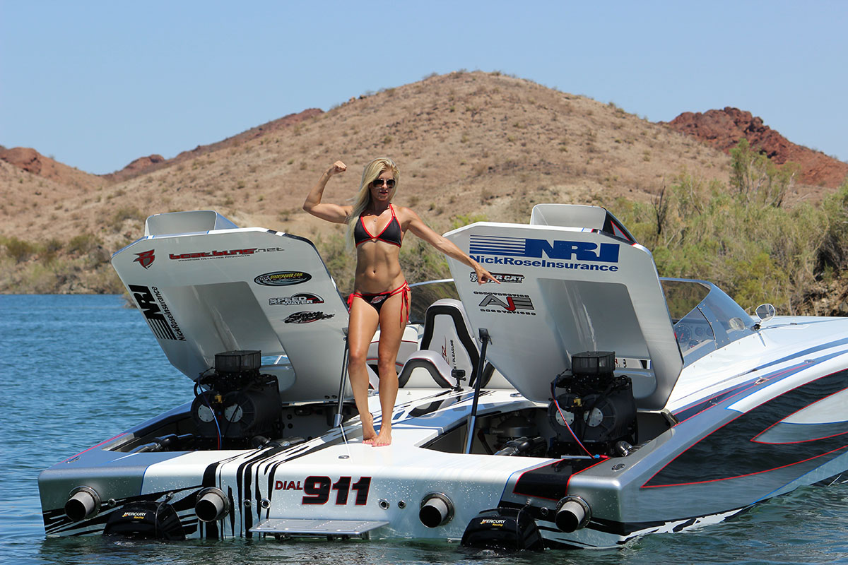 There's no doubt that all eyes are going to be on California girl Summer Richardson at this year's Lake of the Ozarks Shootout. Photo courtesy Swoop Motorsports