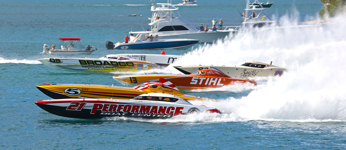 When it comes to offshore racing, Key West is as about as good as it gets. Photo by Pete Boden/Shoot 2 Thrill Pix (https://www.facebook.com/Shoot-2-Thrill-Pix-130528070292399/)