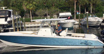 The Spectre by Pilini 35 SS center console has been a hot seller for Jay Pilini's Clearwater, Fla., company.