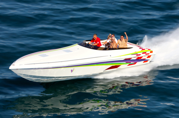 Owners of smaller high-performance boats are welcome in the club.