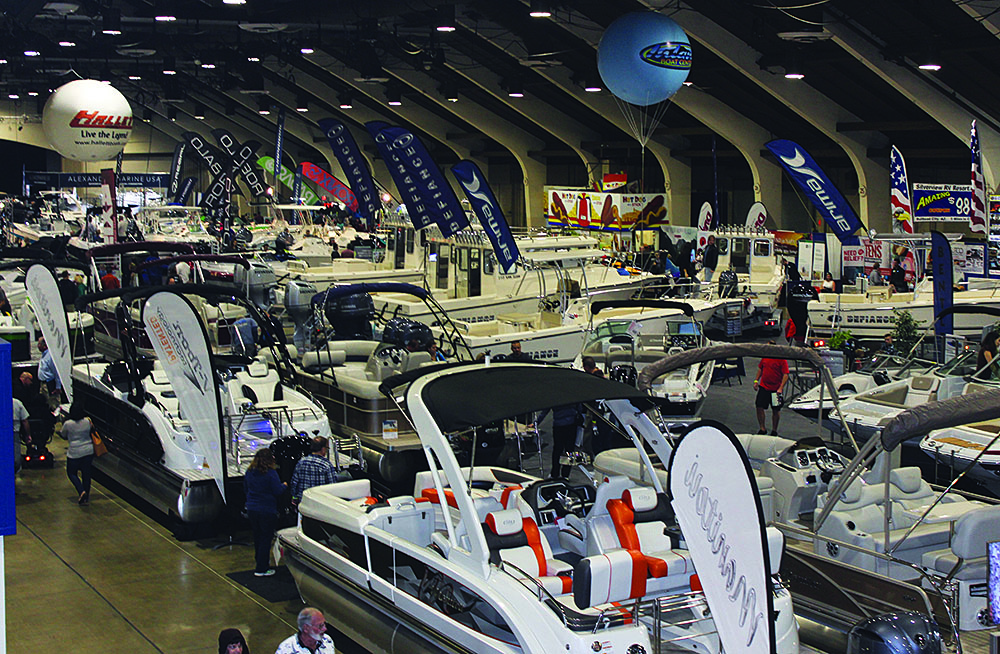 The 61st annual Los Angeles Boat Show took place at the Fairplex in Pomona for the first time last week. Photo courtesy L.A. Boat Show