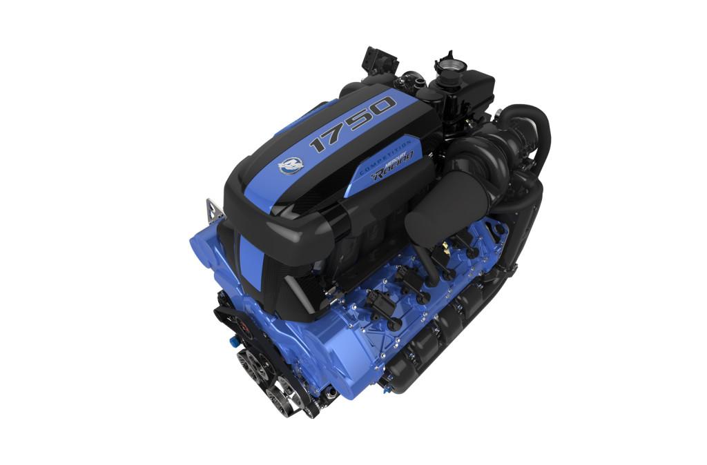 Mercury-Racing-1750 hp QC4v Engine, Photo Courtesy Mercury Racing