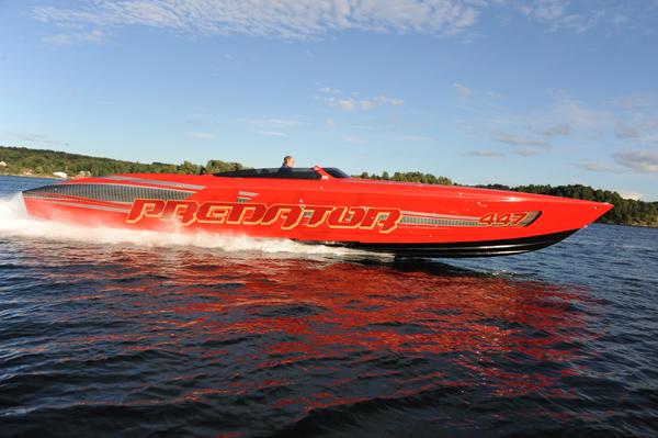 Predator 447-R, Photo Courtesy Predator Luxury Performance Boats