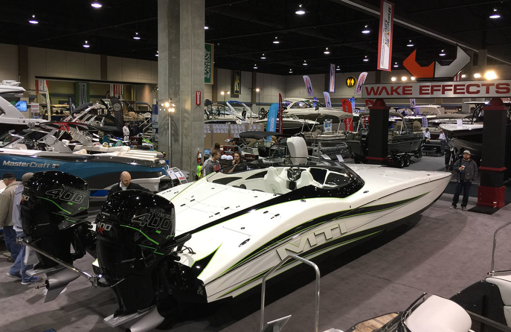 The team at Wake Effects in Osage Beach, Mo., has been enjoying the boat season. Photo courtesy Wake Effects