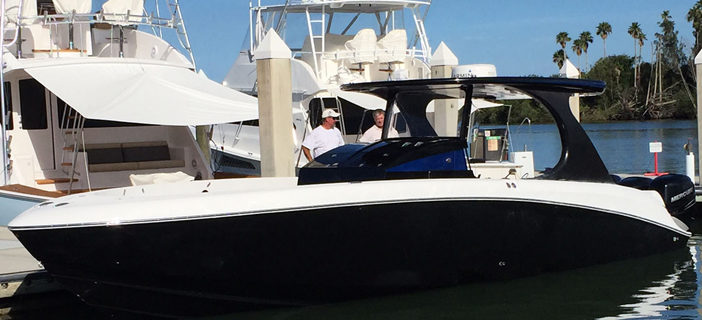 Mystic's New Center Console Hits The Water