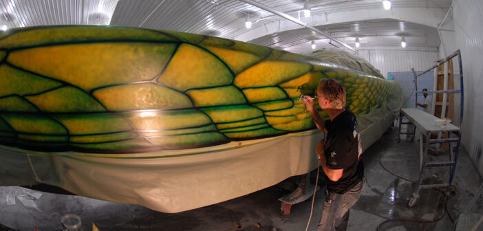 The Art Of Design's Piece Of Powerboat History