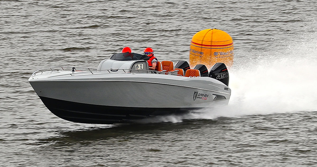 The Opposite Of Smooth Sailing–Draken Marine Debuts New 35 SS