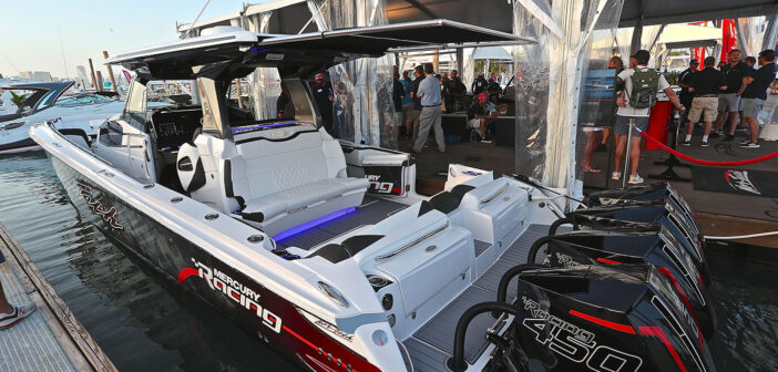 Miami Boat Show Of Force