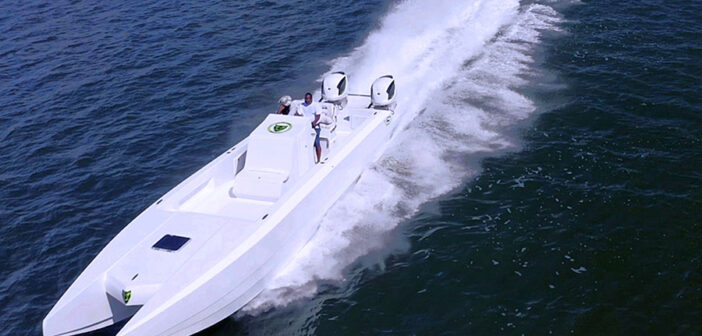 Jaguar Powerboats New 43-Foot Cat Coming To Miami